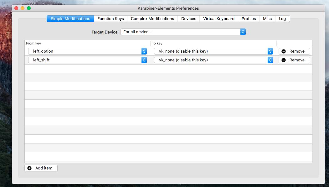 cara memperbaiki tombol shift option stuck bermasalah macbook pro