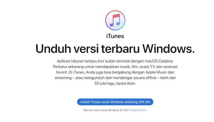 cara memindahkan foto dari laptop ke iPhone iTunes