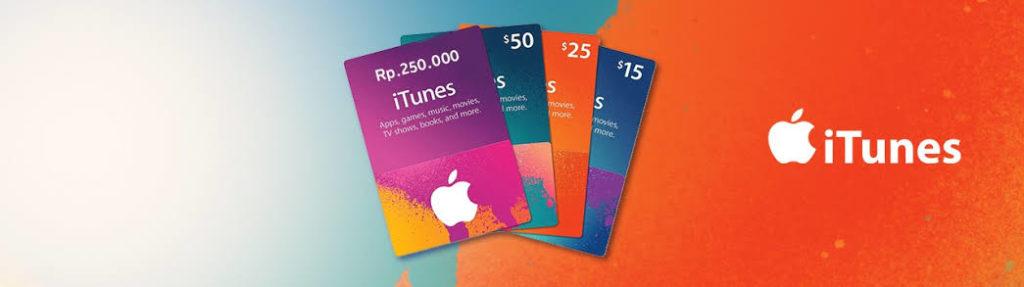 Cara Redeem iTunes Gift Card dan bagaimana cara membelinya
