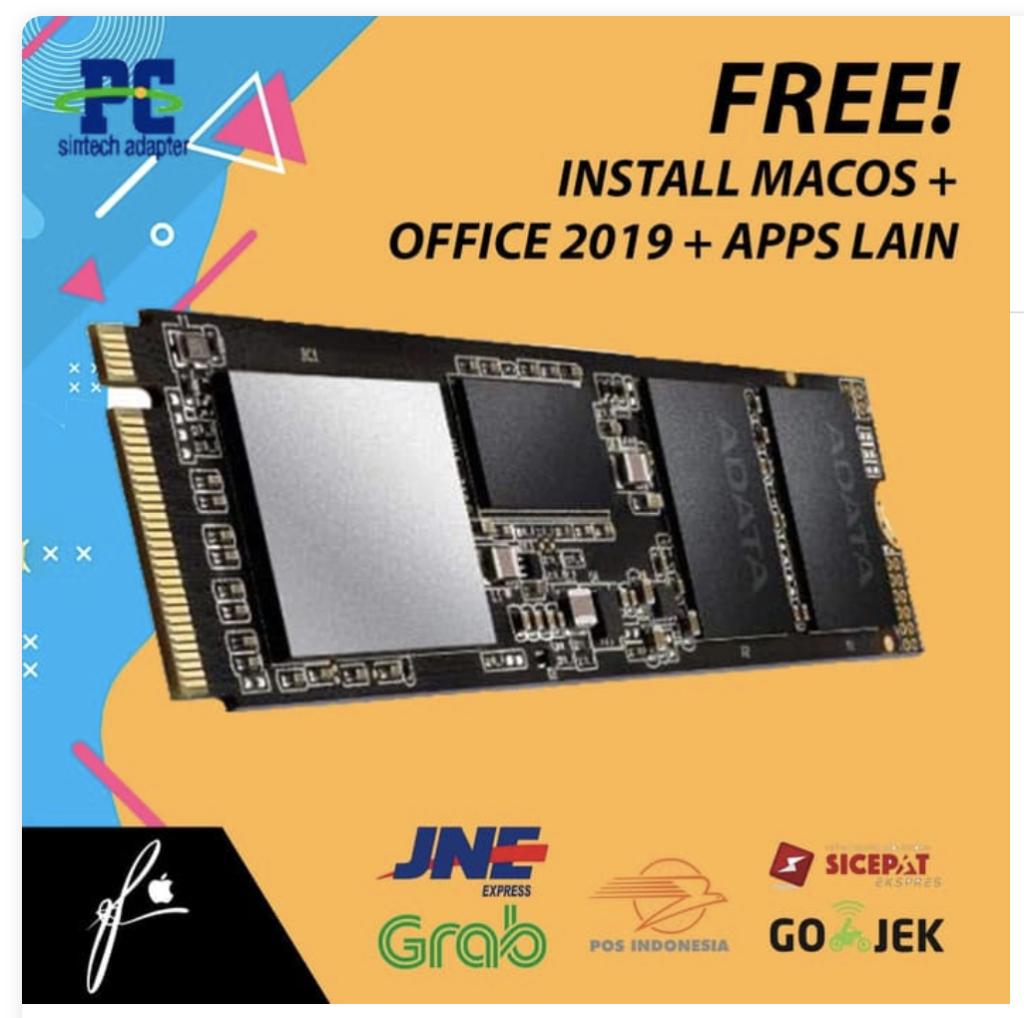 paket adapter ssd macbook air 1