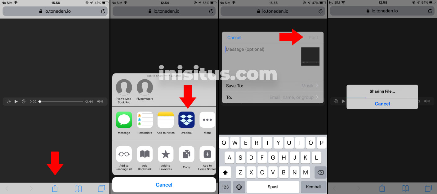 cara download lagu di iPhone iOS 12