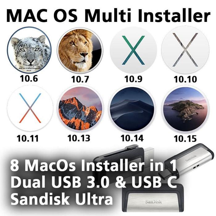 macos multi installer usb 1