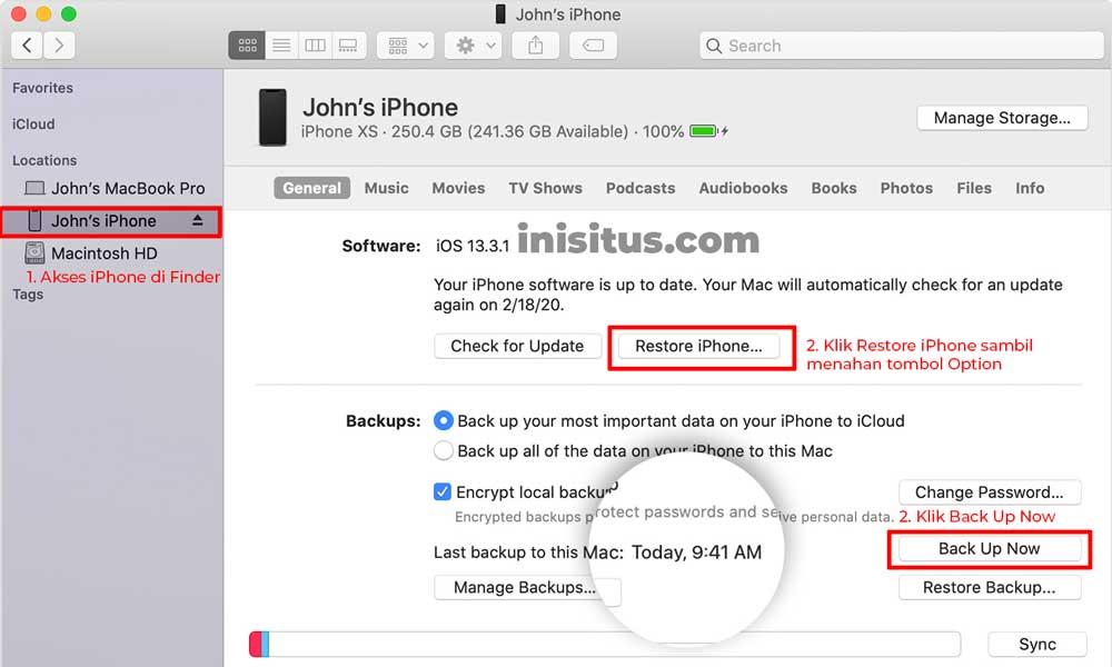 Cara Upgrade iOS pakai Komputer
