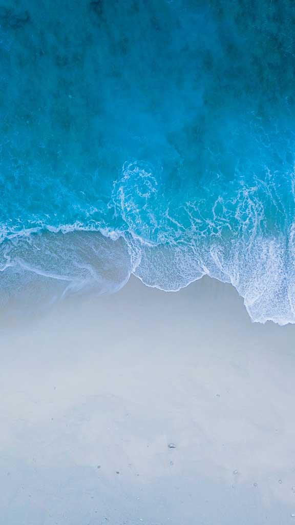 wallpaper ios 14 waves 1