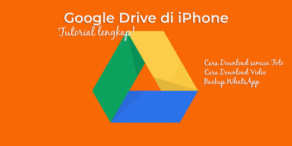 Google drive di iPhone