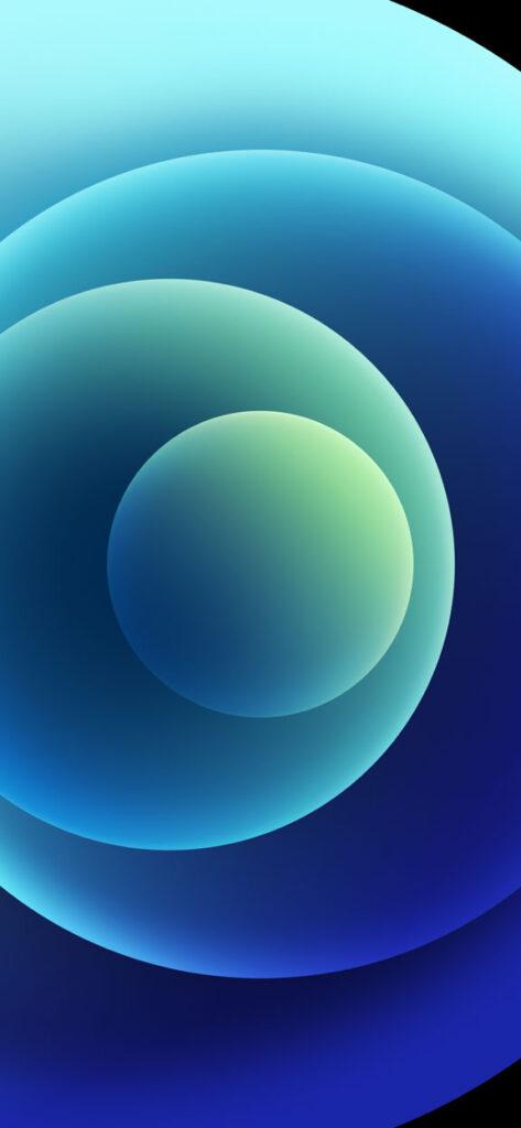 Orbs Blue Light