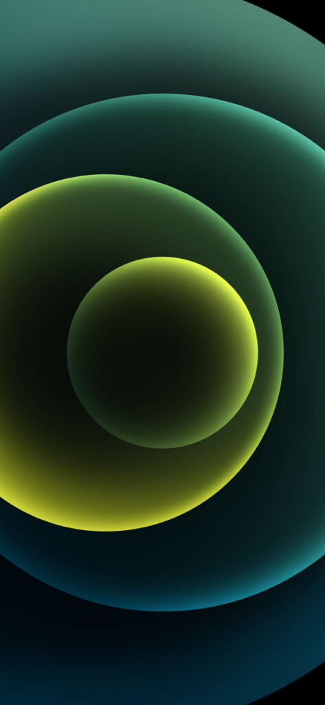 Orbs Green Dark