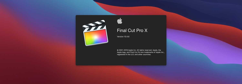 aplikasi terbaik macbook final cut pro