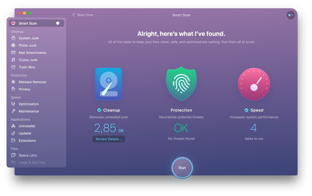 smart scan cleanmymac