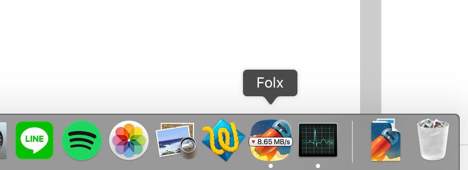 speed download di aplikasi folx