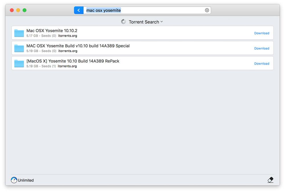 download file torrent mac