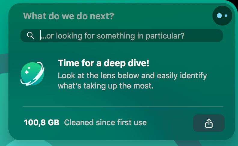 bersihkan file dengan cleanmymac